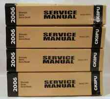 2006 Chevy Silverado Sierra Denali Service Shop Repair Manual Set FACTORY OEM