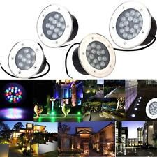 12-24V 9/12/15/18W LED Underground Light Waterproof Outdoor Decoration Lamp F2V5