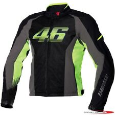 DAINESE VR46 AIR TEXTILE MOTORCYCLE JACKET FLOW COOL MESH MOTORBIKE ROSSI DOCTOR
