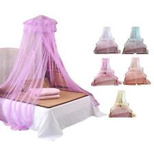 Round Lace Curtain Dome Bed Canopy Netting Princess Mosquito Bug Net Room Hangs!