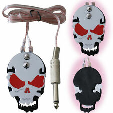 Foot Switch Skull Head Momentary Tattoo Pedal Machine Power Supply Foot Switch