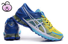 ASICS GEL-KINSEI 6 (NOT 5) Men's Running Trainers Sneakers Shoes-Blue/Yellow