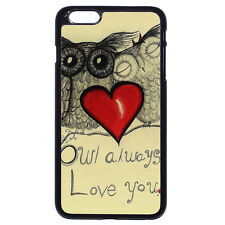 DIY Owl Always Love You For Apple iPhone iPod & Samsung Galaxy S8+ Case Cover
