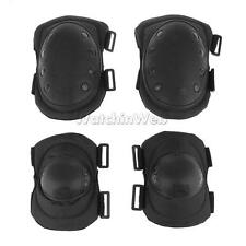 4Pcs/Set Military Tactical CS Protective Gear Sports Safety Elbow Knee Pads