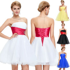 Short Mini Cocktail Party Ball Gown Wedding Formal Bridesmaid Prom Evening Dress