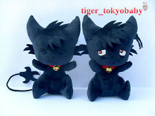 "13.7"" Servamp Servant Vampire Kuro Black Cat Handmade Cosplay Plush Doll"