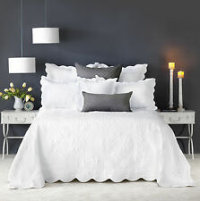 NEW Embroidered Shayla Bedspread Set