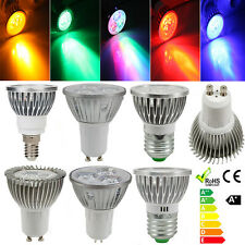 E27/E14/GU10/MR16 3W 3 LED Energy Saving Spot Light Spotlight Lamp Bulb 12V/220V