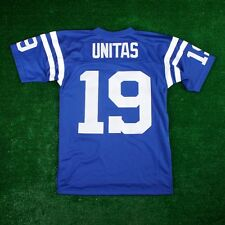 JOHNNY UNITAS 1967 Indianapolis Colts MITCHELL & NESS Home Blue Jersey Men's