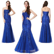Sexy Wedding Long Dress Mermaid Slim Maxi Formal Prom Party Gown Evening Pageant
