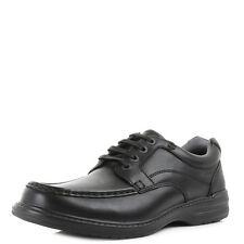 Mens Clarks Keeler Walk Black Leather Wide H Fit Casual Shoes Shu Size