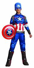 Rubies Avengers 2 Age of Ultron Childs Deluxe Capt America Costume ASIS No Mask