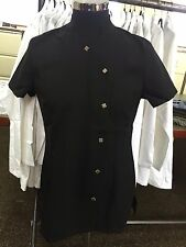 New Ladies Black Healthcare Tunic, Healthcare Dental Vet Medical Nursing 2355