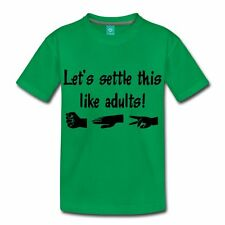 Settle This Like Adults Kids' T-Shirt by Spreadshirt™
