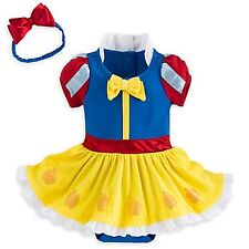 Disney Store Snow White Princess Dress Up Baby Costume Halloween 12 18 24 Mo NEW