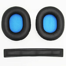 Replacement Ear Pads & Headband Cushion for Sennheiser HD8 DJ HD6 MIX Headphones