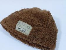 New Baby Gap Boys Ginger Brown Sherpa Fleece Beanie Hat XS/S 12-24M, S/M 2-3 Yrs