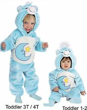 DELUXE PLUSH BEDTIME CARE BEAR COSTUME  Size 1-2  and Toddler 3T/4T