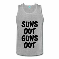 Stay Fly Suns Out Guns Out Men's Tank Top by Spreadshirt