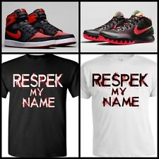 RESPEK TEE SHIRT #4 to match ANY NIKE/AIR MAX/KOBE/KD/LEBRON/JORDANS/PUMA/ADIDAS