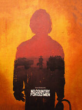 NO COUNTRY FOR OLD MEN  ART PRINT  POSTER FILM MOVIE WALL DECOR A3 SIZE