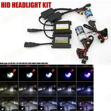 35W Hid Kit Headlight Xenon Light Ballast Bulbs Conversion H1 H3 H7 H4 9005 9006
