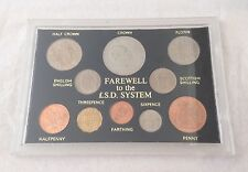Farewell to the £.S.D. System Pre-Decimal 10 Coin Gift Set