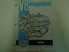 1984 Mack Trucks V8 Engine Tune Up Specifications Manual Factory OEM Book Used