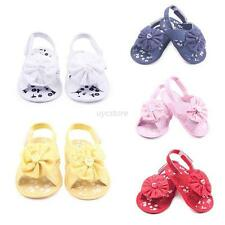 Vogue Baby Infant Kids Girl Soft Sole Crib Toddler Newborn Anti-Slip Shoes 0-12M