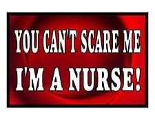 Custom Made T Shirt Can't Scare Me Choice I'm A Nurse CNA Medical Occupation