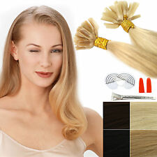 Hair extension 1g dick Bonding 100% human remy pieces Strands