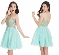 Short Mini Homecoming Dress Strapless Applique Evening Prom Cocktail Party Dress