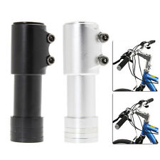 Aluminium Alloy 120mm Bike Bicycle Fork Stem Extender Handlebar Head Up Adapter