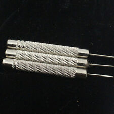 4Pcs Watch Band Bracelet Steel Punch Link Pin Remover Repair Tool 5 Sizes FO