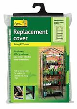 4 Tier Replacement Greenhouse PVC Cover Only Plants Cold Frame