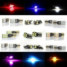 2pcs T10 5730/4014 LED Canbus Error Free Interior/License Plate SMD Lights Bulbs