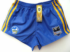 "NRL PARRAMATTA EELS RUGBY LEAGUE SUPPORTERS SHORTS ""TELSTRA LOGO"" - BRAND NEW"
