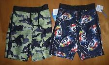 Boys Wave Zone SWIM TRUNKS board shorts SIZE 6/7 8/10 swimming suit Sharks Camo