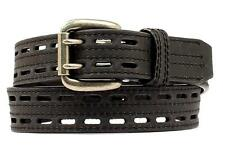 Nocona Western Mens Belt HD Xtreme Double Pin Black  N2710801