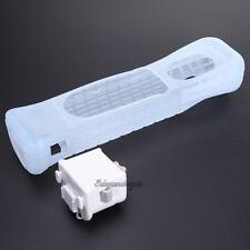 Motion Plus Adapter Sensor + Silicone Case for Nintendo Wii Remote Controller