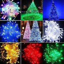 Waterproof 10M 100LED Fairy String Lights Christmas Party Garden Xmas Tree Decor