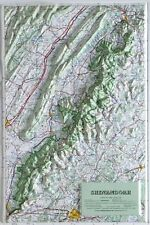 Shenandoah National Park Raised Relief Map