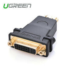 Ugreen HDMI to DVI female to HDMI male Converter adapter Support 1080P for HDTV