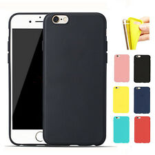 New Ultrathin Matte TPU Soft Silicone Protective Case Cover For iPhone 6 6s Plus