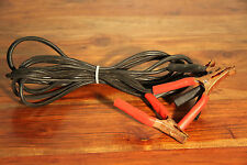 12' Car Battery Jumper / Booster Cables EXCELLENT CONDITION GOOD QUALITY
