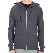 Volcom Timesoft Ultra Slim Heather Dark Navy Zip Hoody