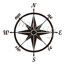 Compass Home Window Car Sticker Laptop Auto Truck Vinyl Decal Sticker Decor Gift