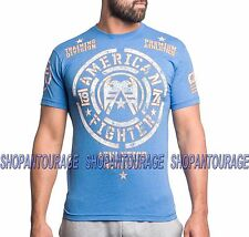 AMERICAN FIGHTER Ozark FM2989 Men`s New Blue T-shirt By Affliction
