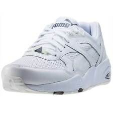 Puma R698 Core Mens Trainers White Grey New Shoes