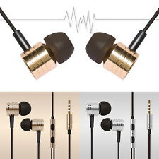 For Cell Phone MP3/MP4 Headphone In Ear Headset Stereo earphones With Remote Mic